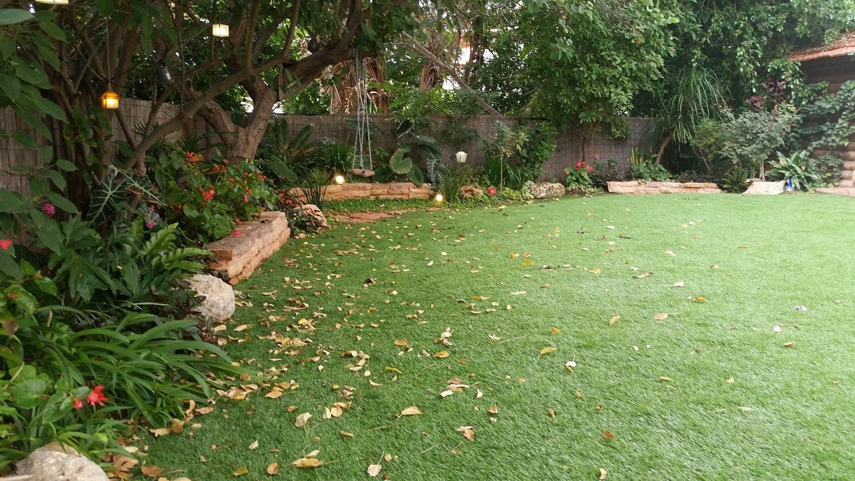 גבהים יפים בגינה פרטית במודיעין