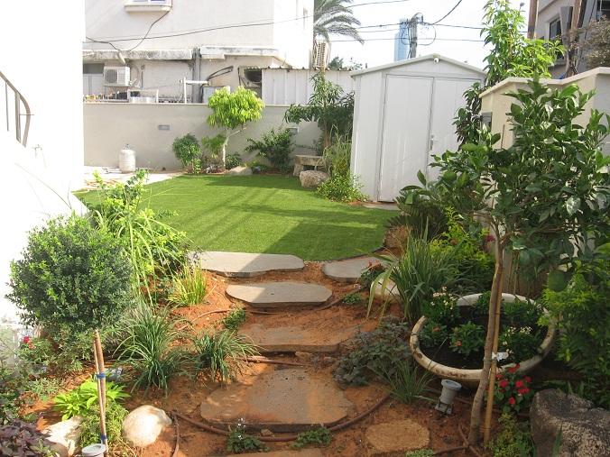 על גינות בתל אביב ניכרות בעיצוב כולל