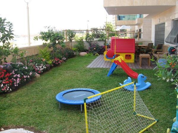 דירת גן עם גינה מתאימה לילדים