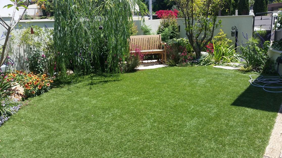 עיצוב גינות ברמת השרון - ערבה בוכייה בגינה