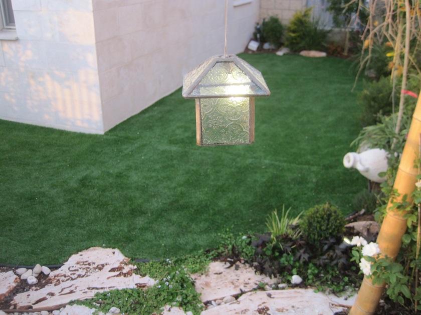 פגודה קובייה צופה לגינה
