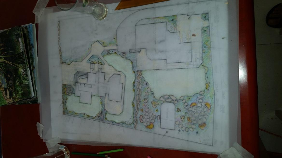 תכנון והקמת גינות פרטיות