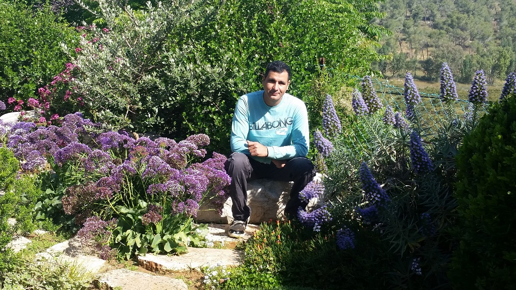 ביקור בגינה עם הכי הרבה נוף לוואדי