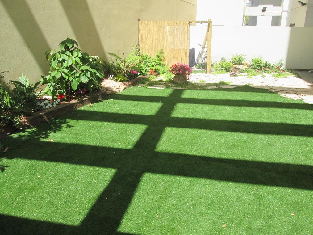 עיצוב והקמת גינה פרטית בדירת גן  בחולון