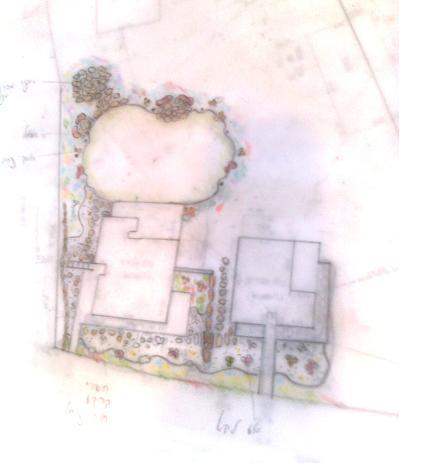 תכנון דירת גן  עם גינה בקרית אונו