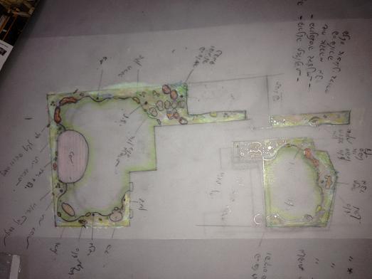 תכנון גינות מעוצבות בשתי אזורים שונים בבית ועם קשר בעיצוב ללא פשרות
