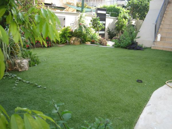 דשא מוגבה בגובה ריצוף הכדור סל