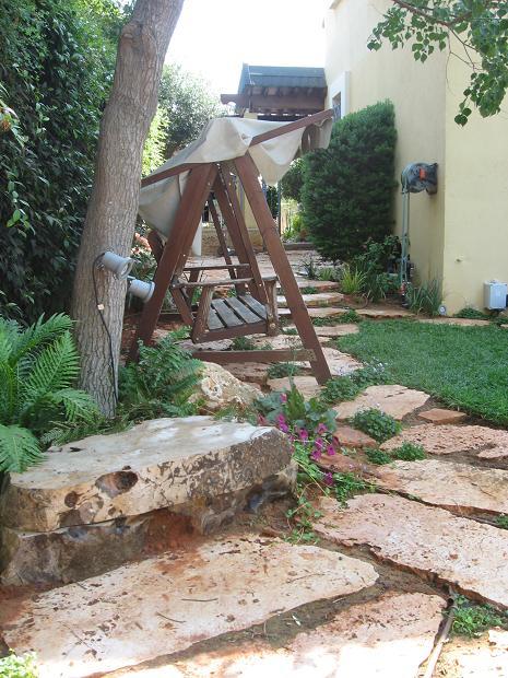 ספסל סלע אבן