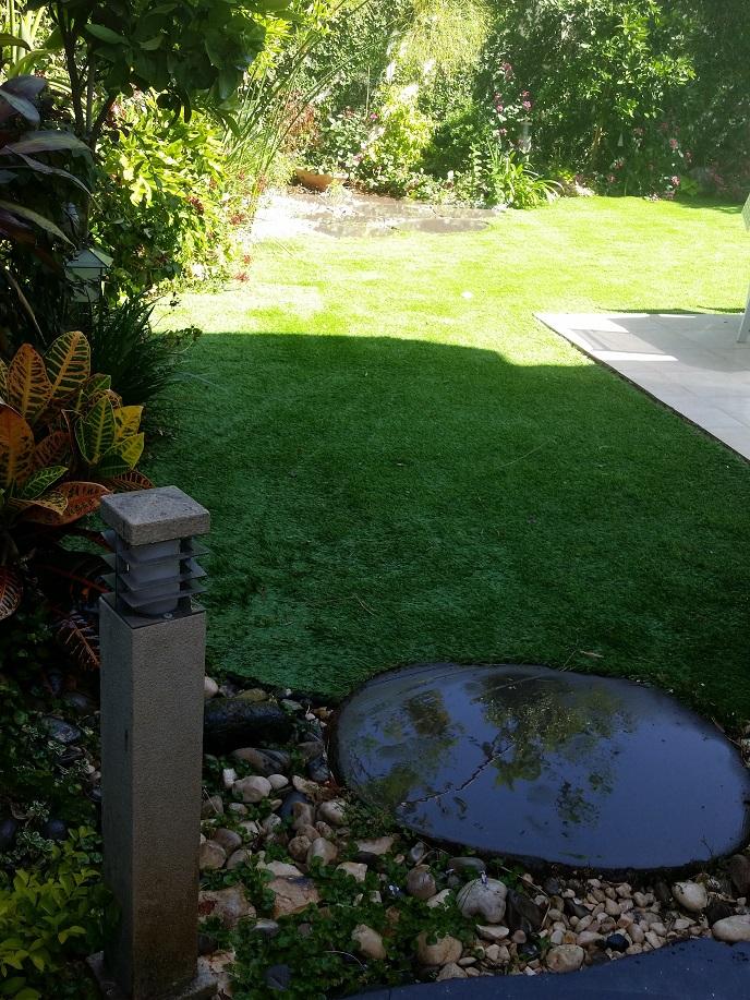 מבט כללי לגינה