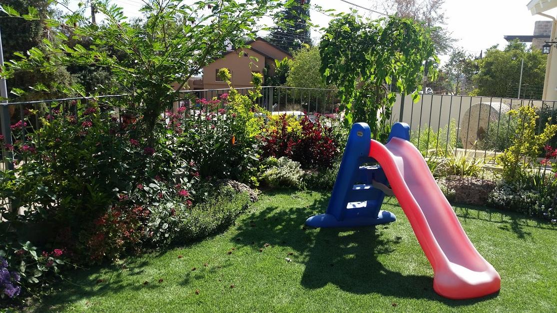 קו הדשא המעוגל מעוצב