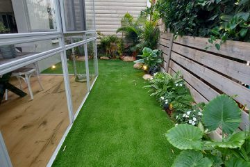 תכנון גינה ביתית בבתים פרטיים / דירת גן